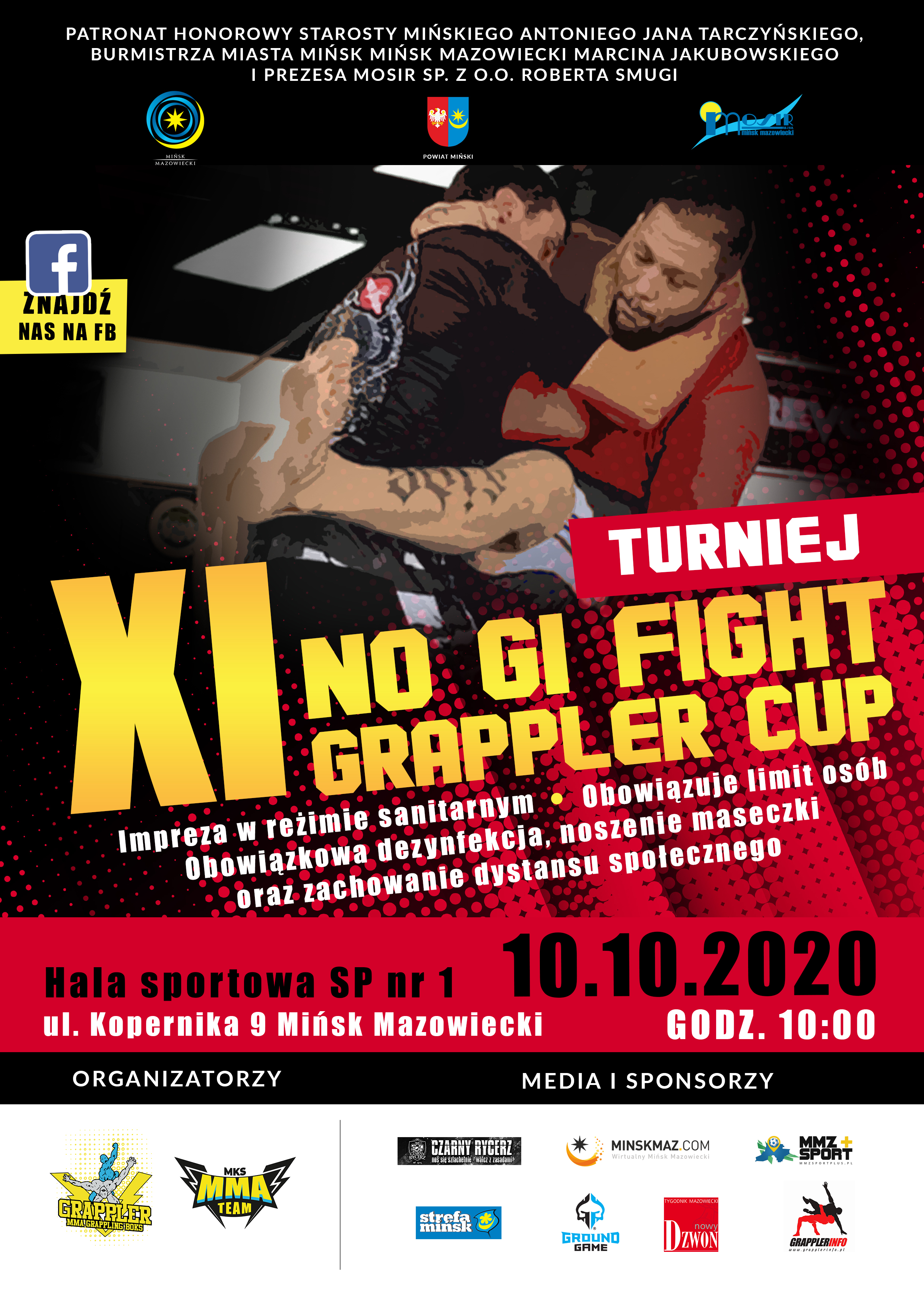 "Turniej ""NO GI FIGHT GRAPPLER CUP"""